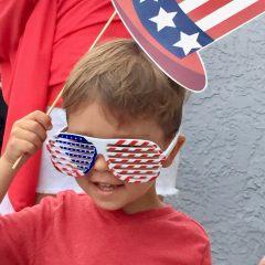 American Flag, celebration, parade