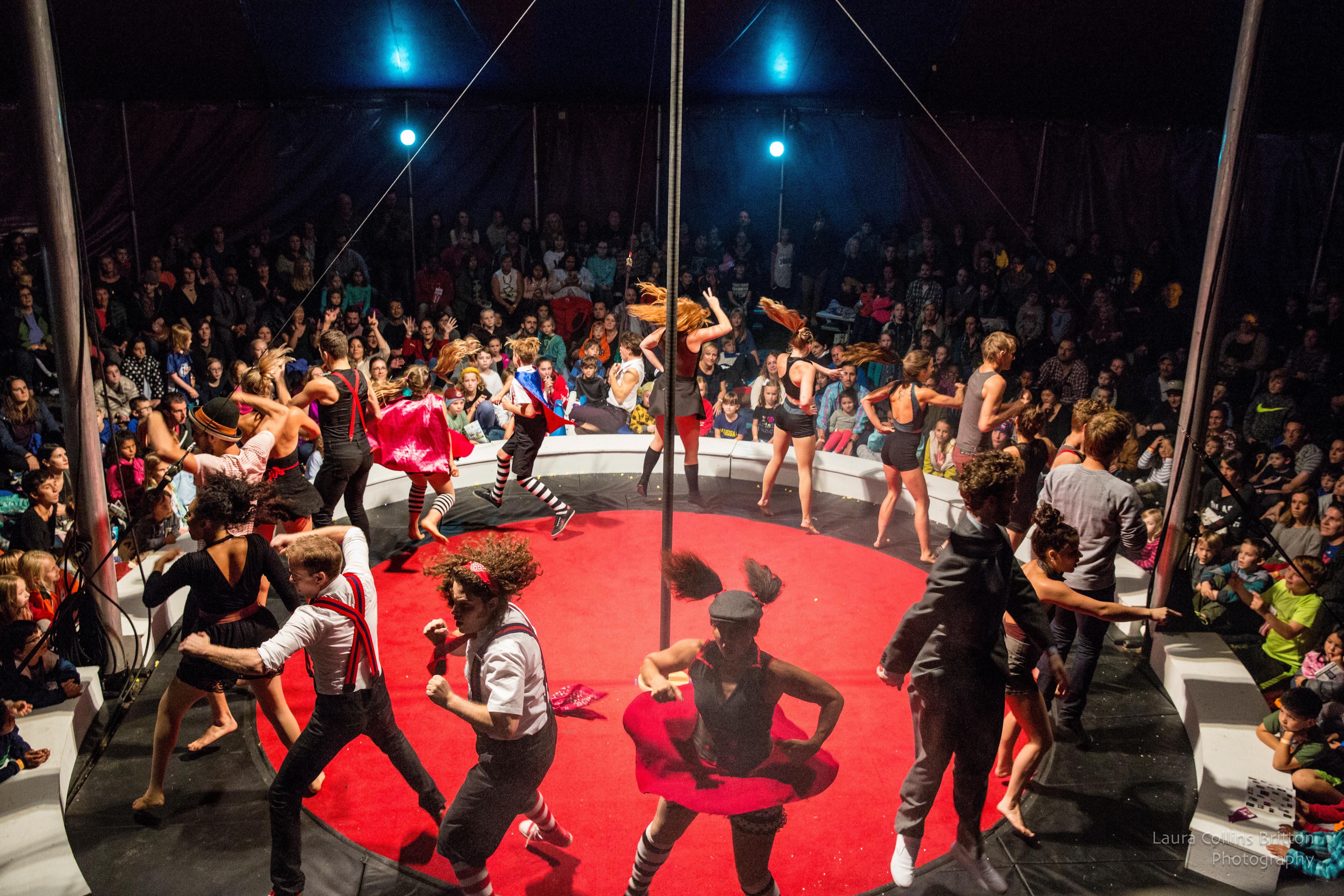Chicago's Midnight Circus in the Parks