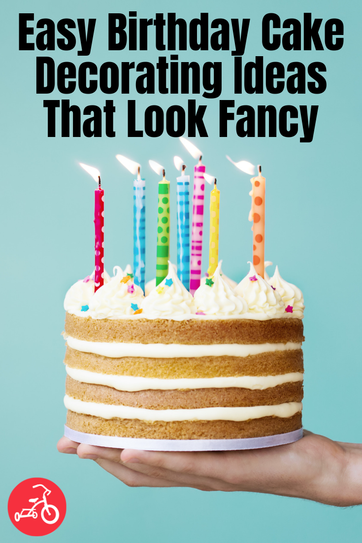 Easy Decorating Ideas For Kids Birthday Cakes
