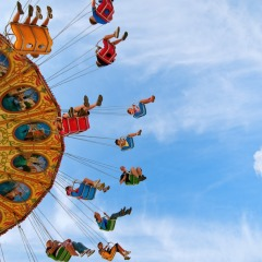 swings, festival, fair, carnival, ride
