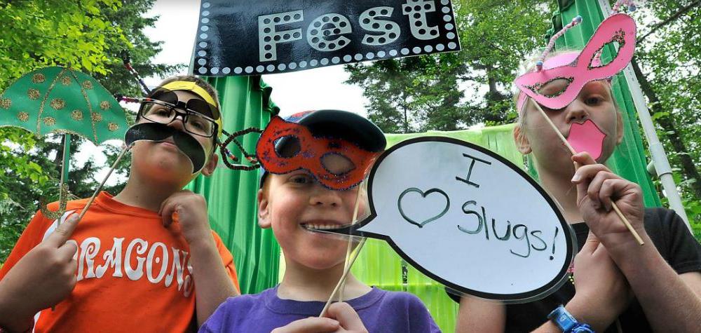 Slug Fest at Northwest Trek