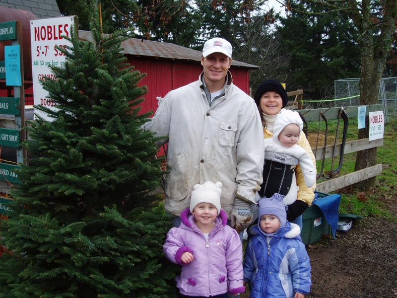 Christmas Tree Farms Near Portland, OR