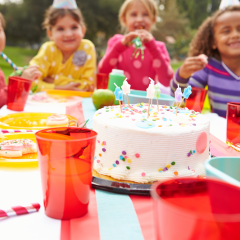 kids birthday, party, celebrate, outdoor party