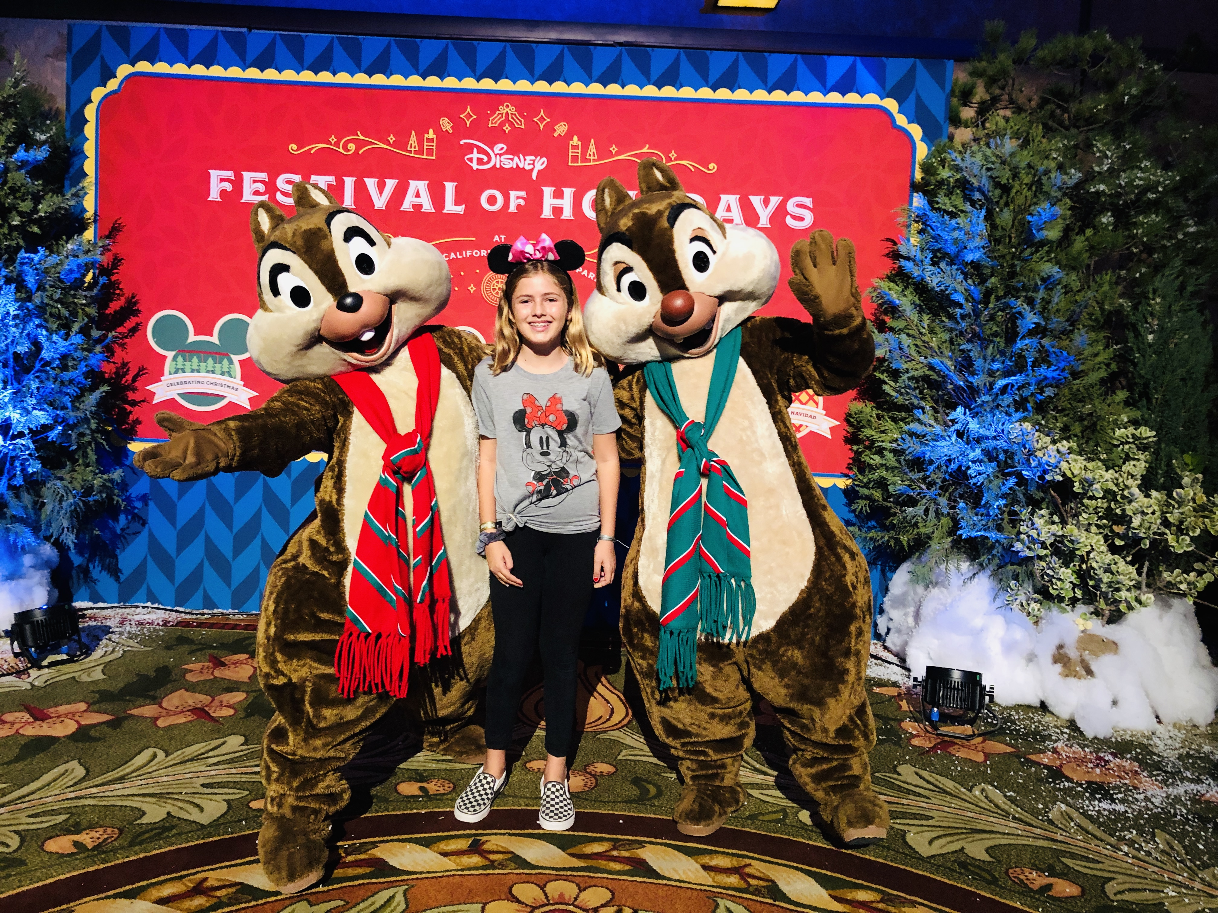 Christmas Celebrations At Disneyland 2019