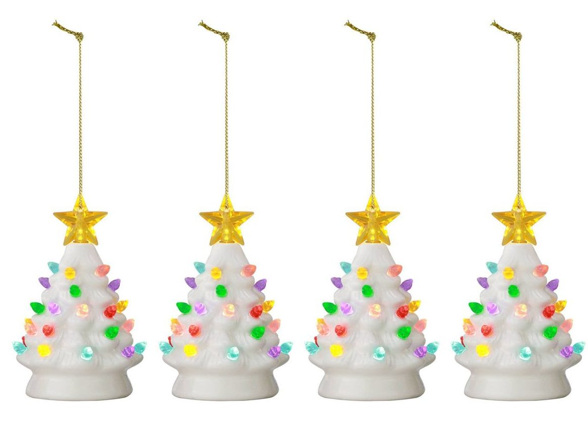 Nostalgia Alert Target Has Vintage Inspired Mini Ceramic Christmas Trees