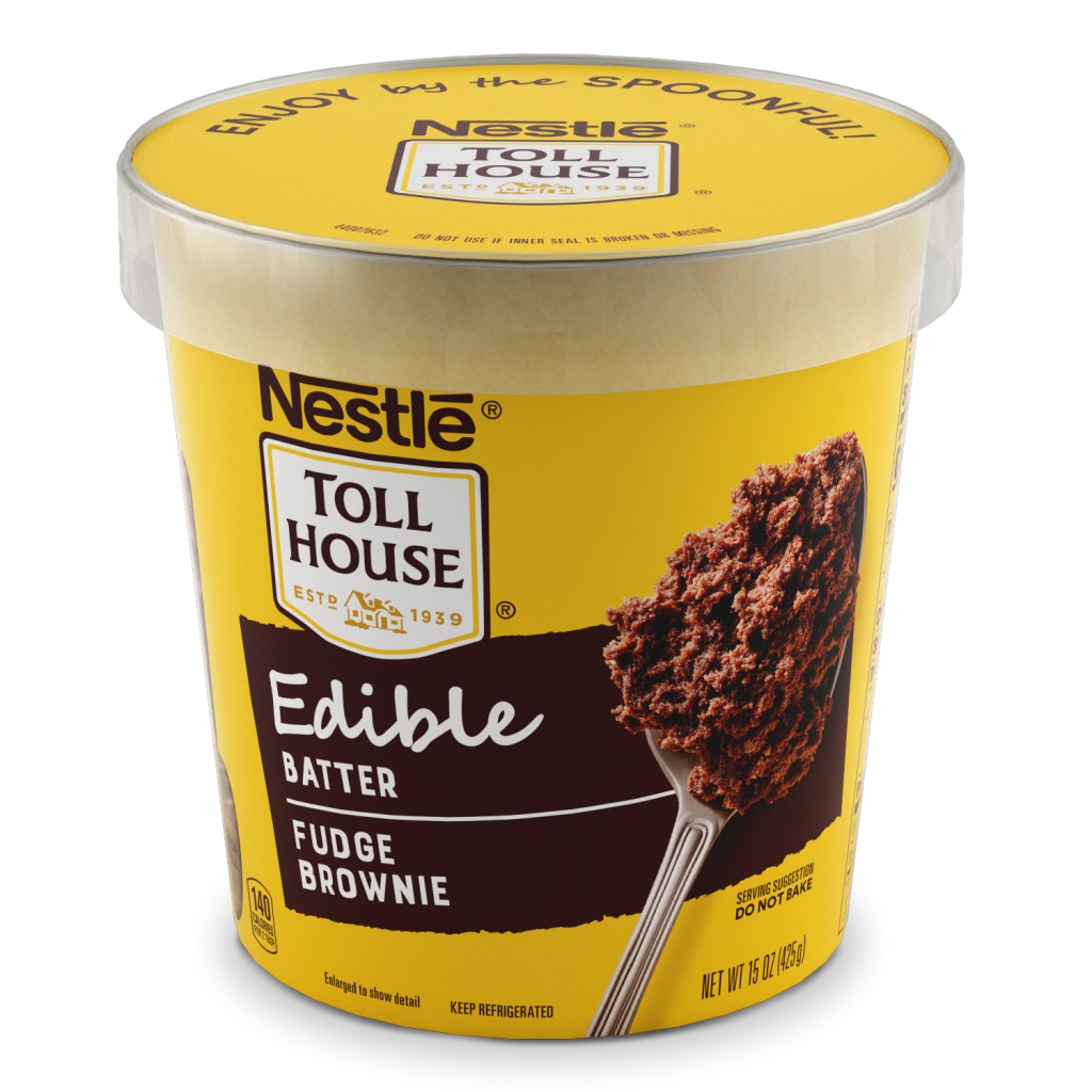 You Can Eat This New Nestle Funfetti Edible Cookie Dough Right Out Of The Tub