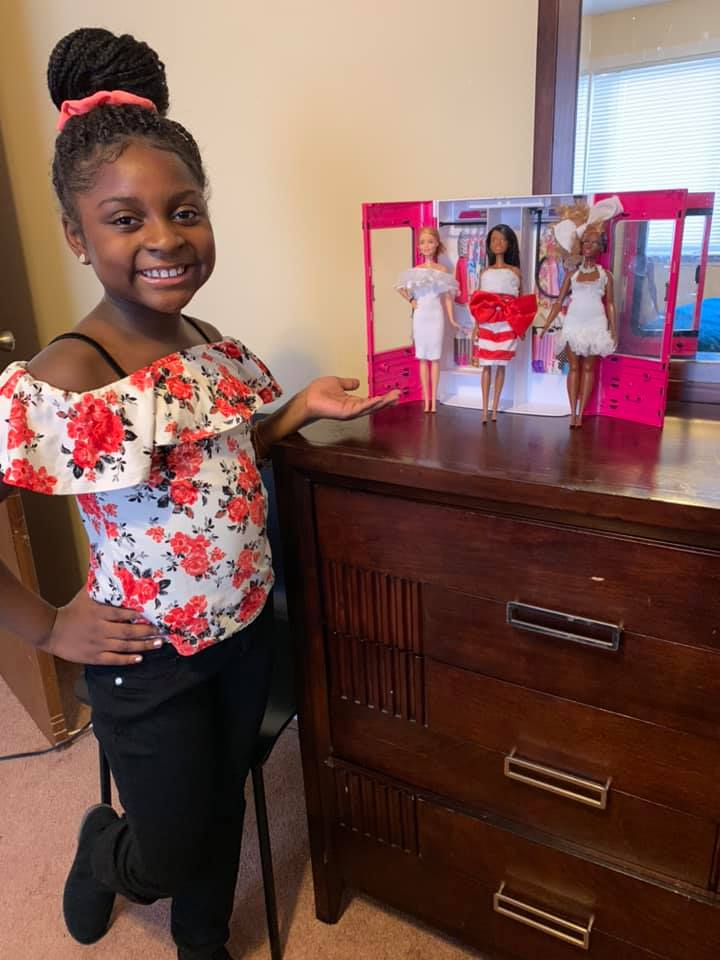 9 Year Old Budding Fashion Designer Catches Mattel S Eye