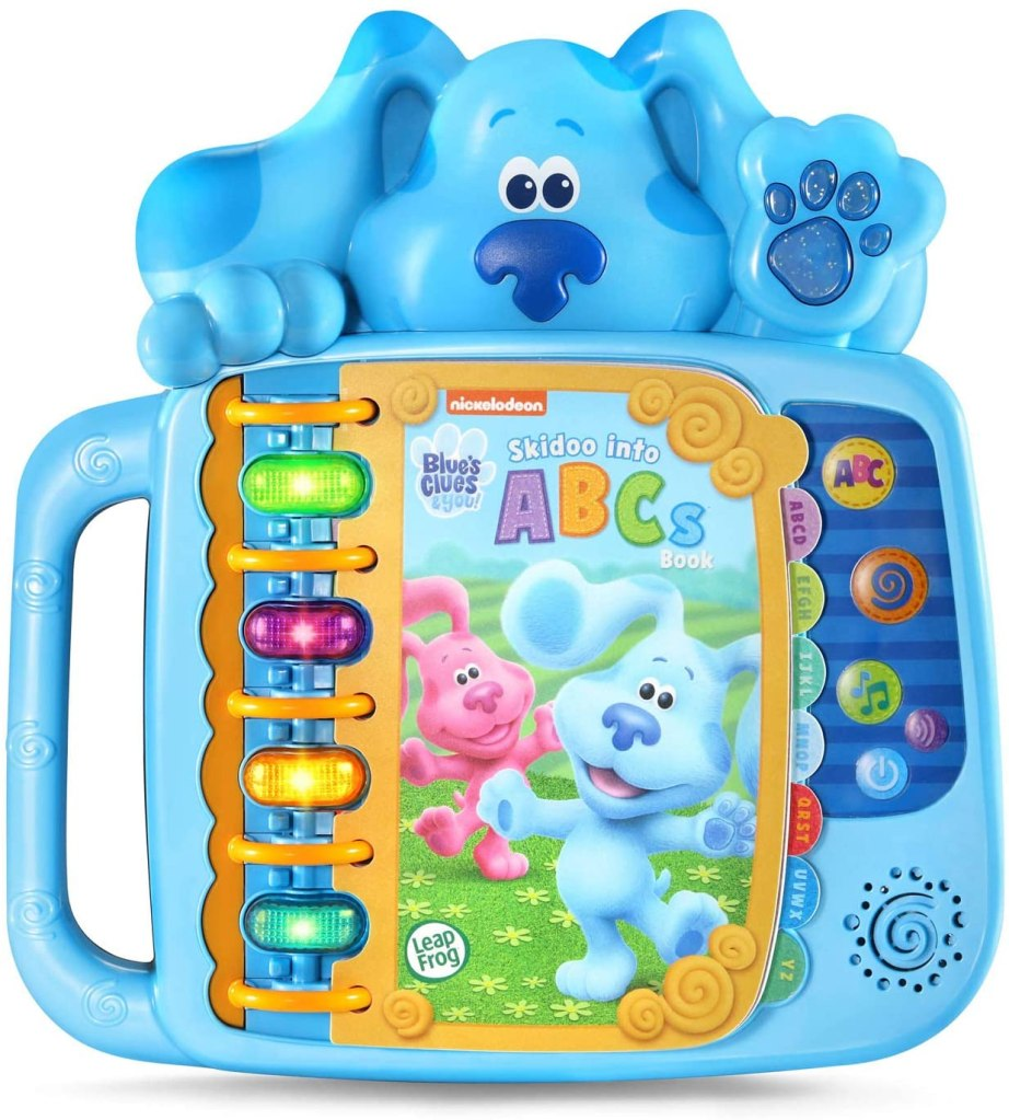 LeapFrog Blue's Clues and You! Skidoo Into ABCs Book