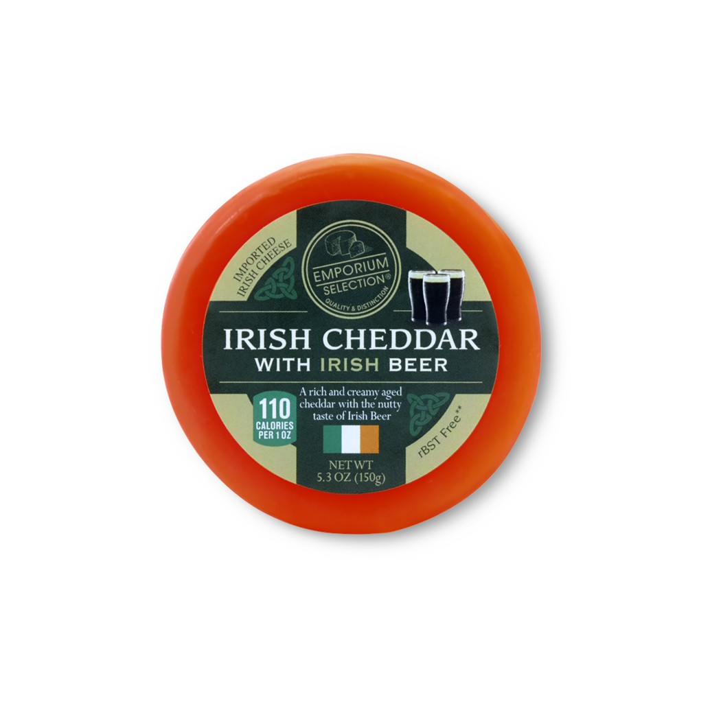 Irish Cheddar with Beer