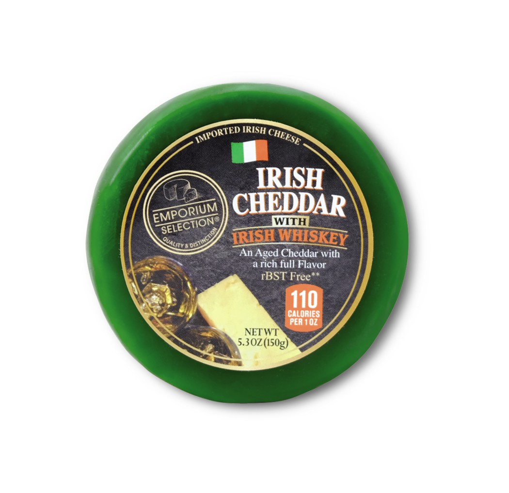 Irish Cheddar with Whiskey