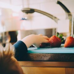 strawberry snack healthy