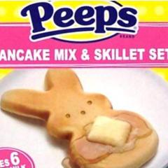Peeps Pancake Skillet