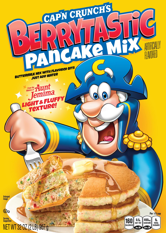 Cap'n Crunch's Berrytastic Pancake Mix