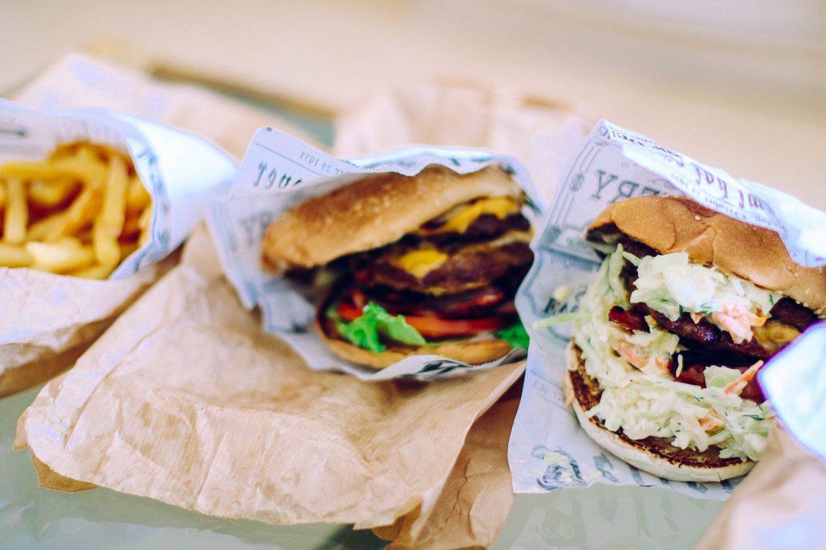 hamburger take out