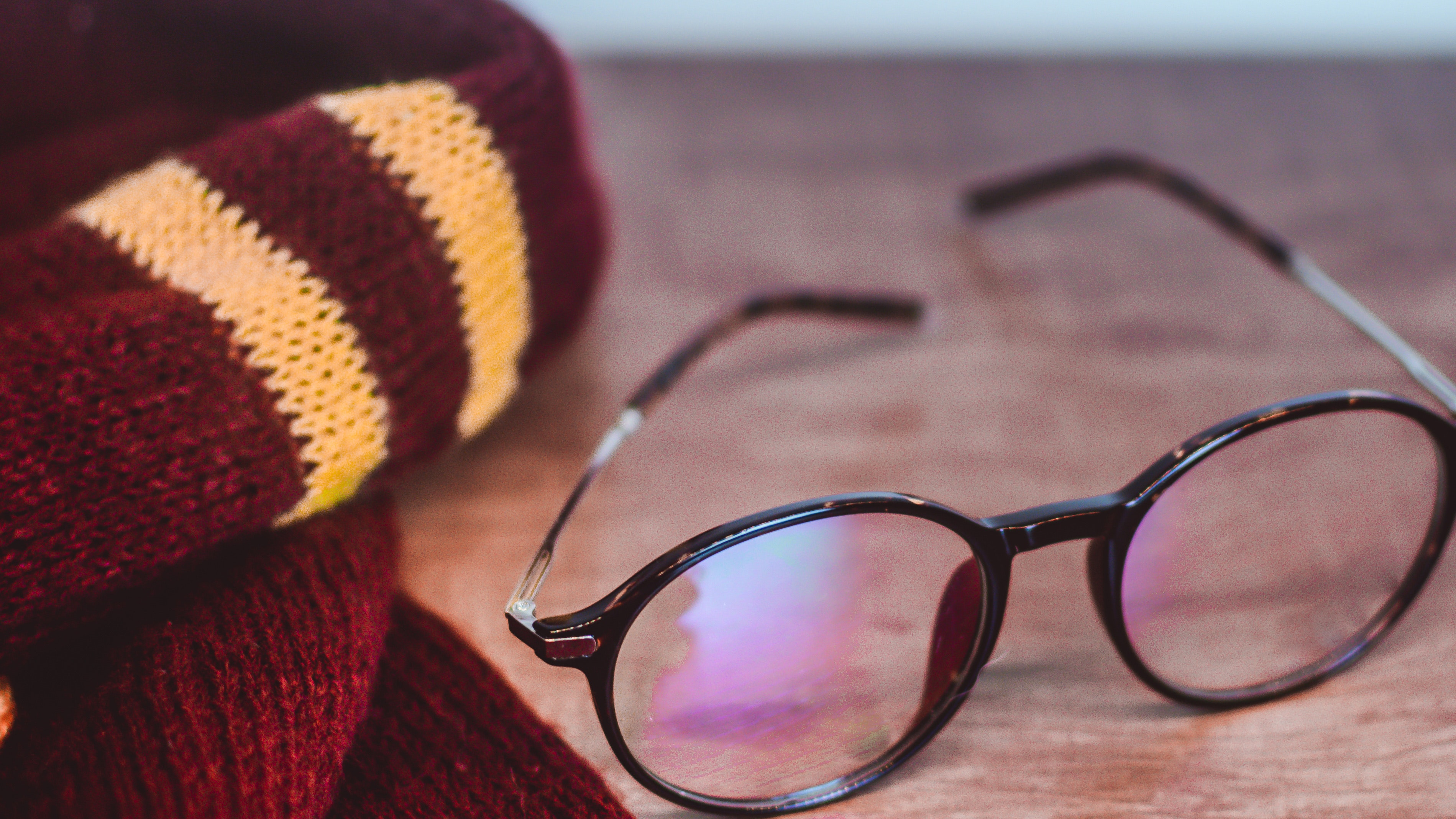 Harry Potter Scarf and Glasses