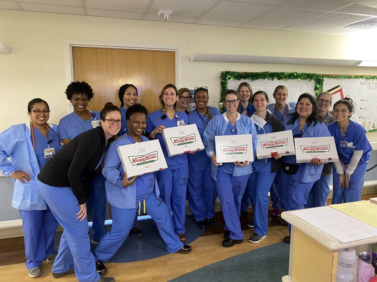 Krispy Kreme Donation