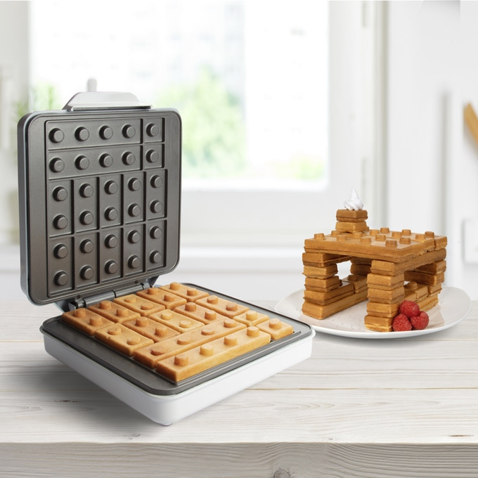 Building Brick Waffles