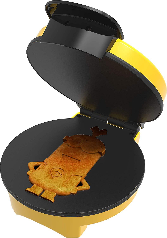 Minion waffle