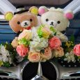 Teddy bride and groom
