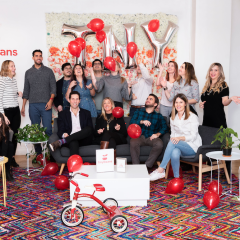 House Red Tricycle, Tiny Beans announcement