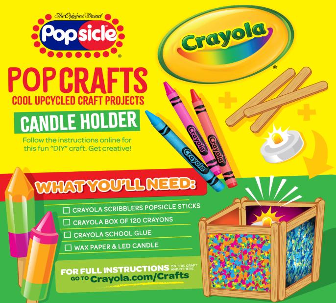 Popsicle x Crayola