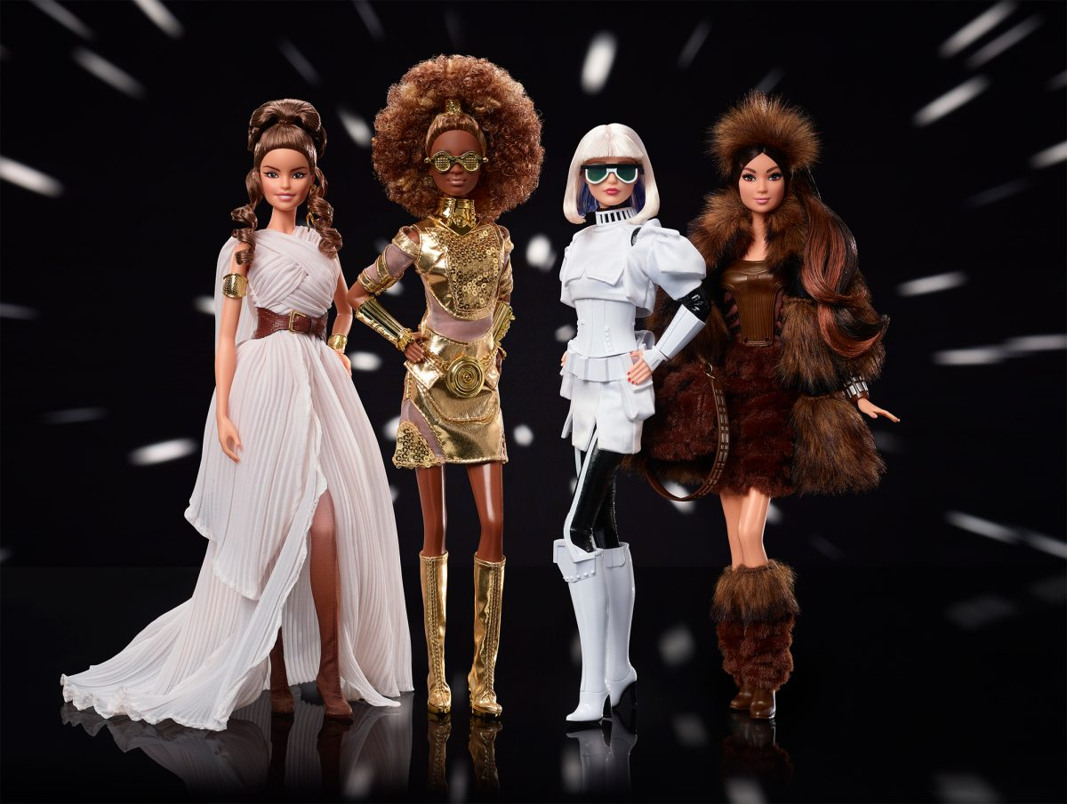 Mattel Releases New Star Wars Themed Collector Barbie Dolls