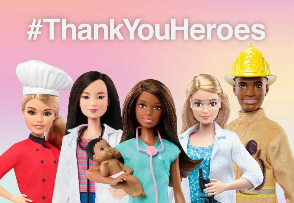 Barbie #ThankYouHeroes