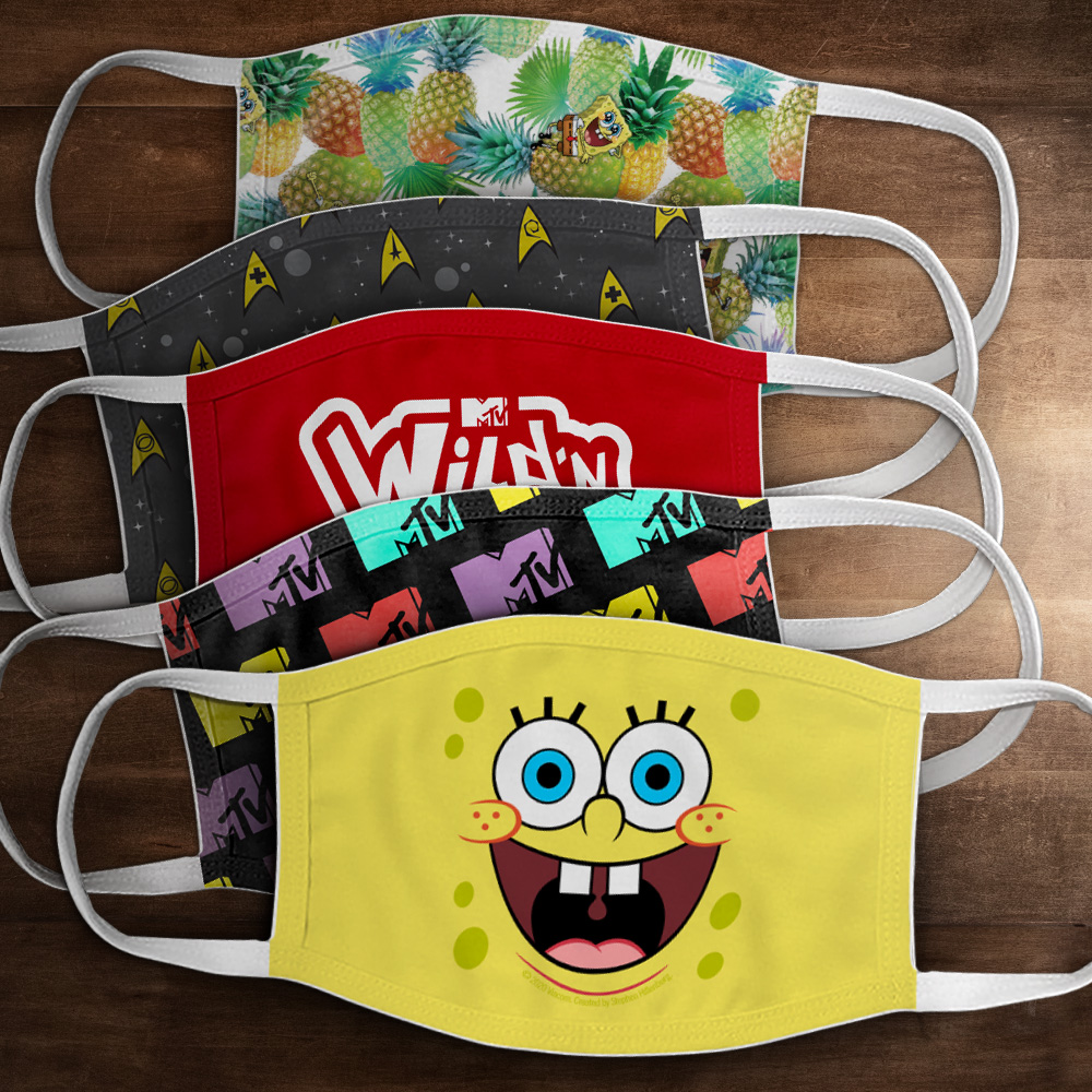 Nickelodeon Masks
