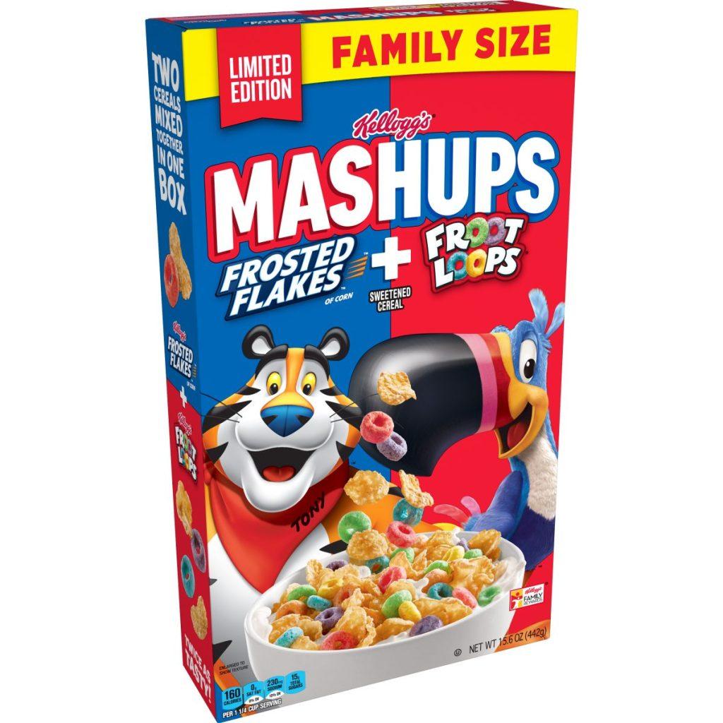 mashups cereal