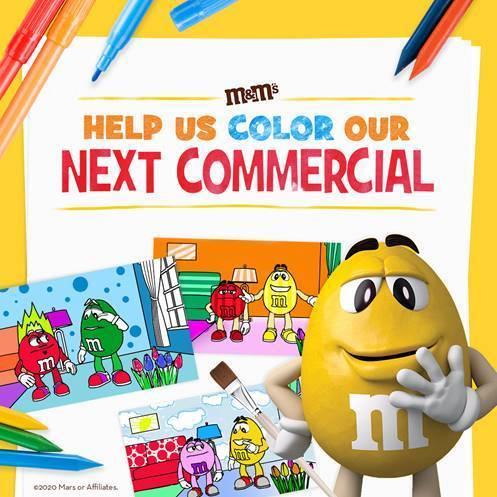 Libro de colorear de M & Ms