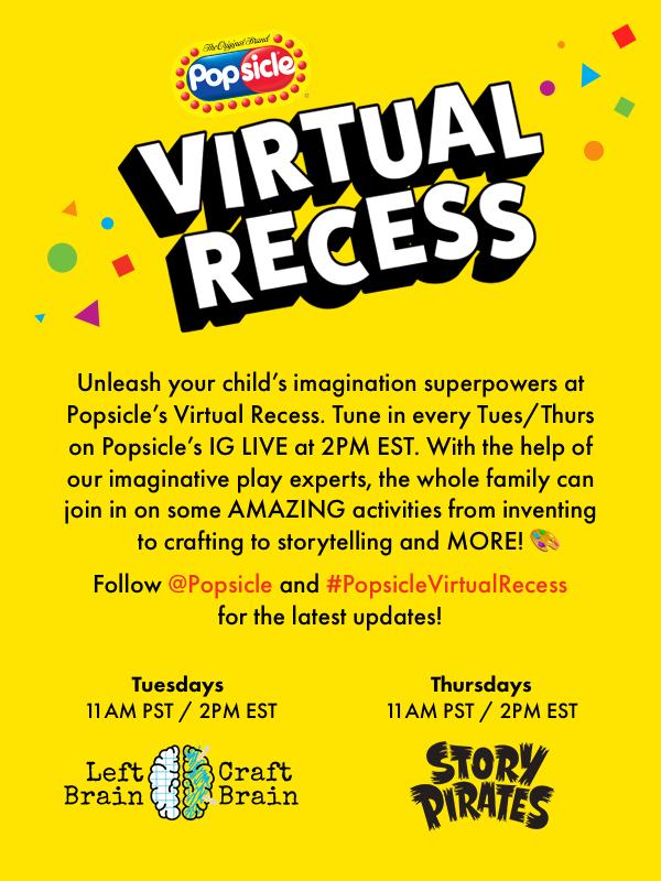 Popsicle Virtual Recess