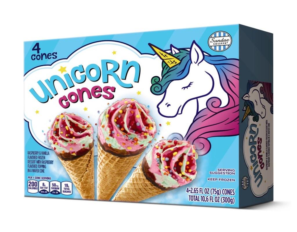 Conos de unicornio