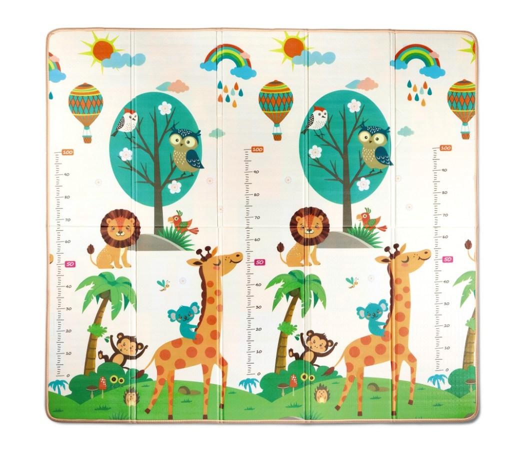 Little Journey Foldable Playmat Safari