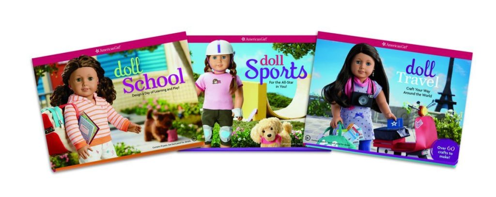 American Girl Crafts books