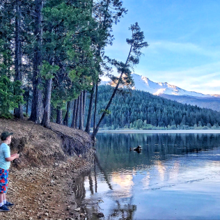 fishing, lake, outdoor activities, Lake Siskiyou, SF, San Fran