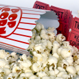 theater, movie night, popcorn, tickets