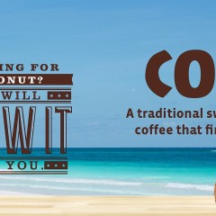 7-Eleven Coconut coffee