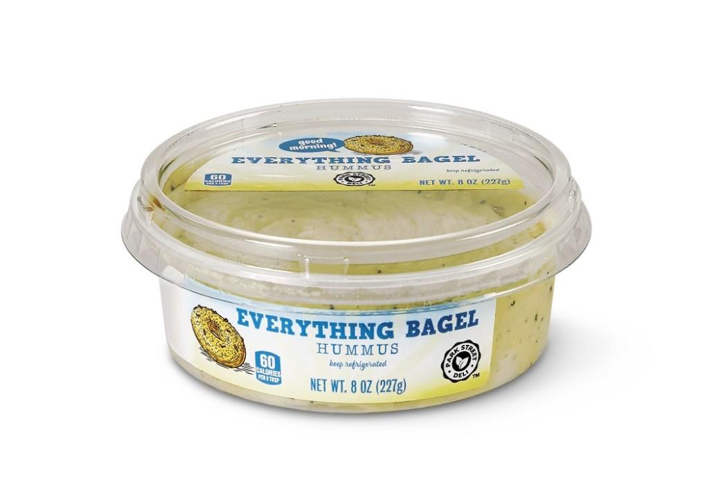 Park Street Deli Breakfast Inspired Hummus Everything Bagel