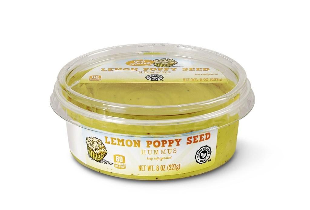 Park Street Deli Breakfast Inspired Hummus Lemon Poppy Seed