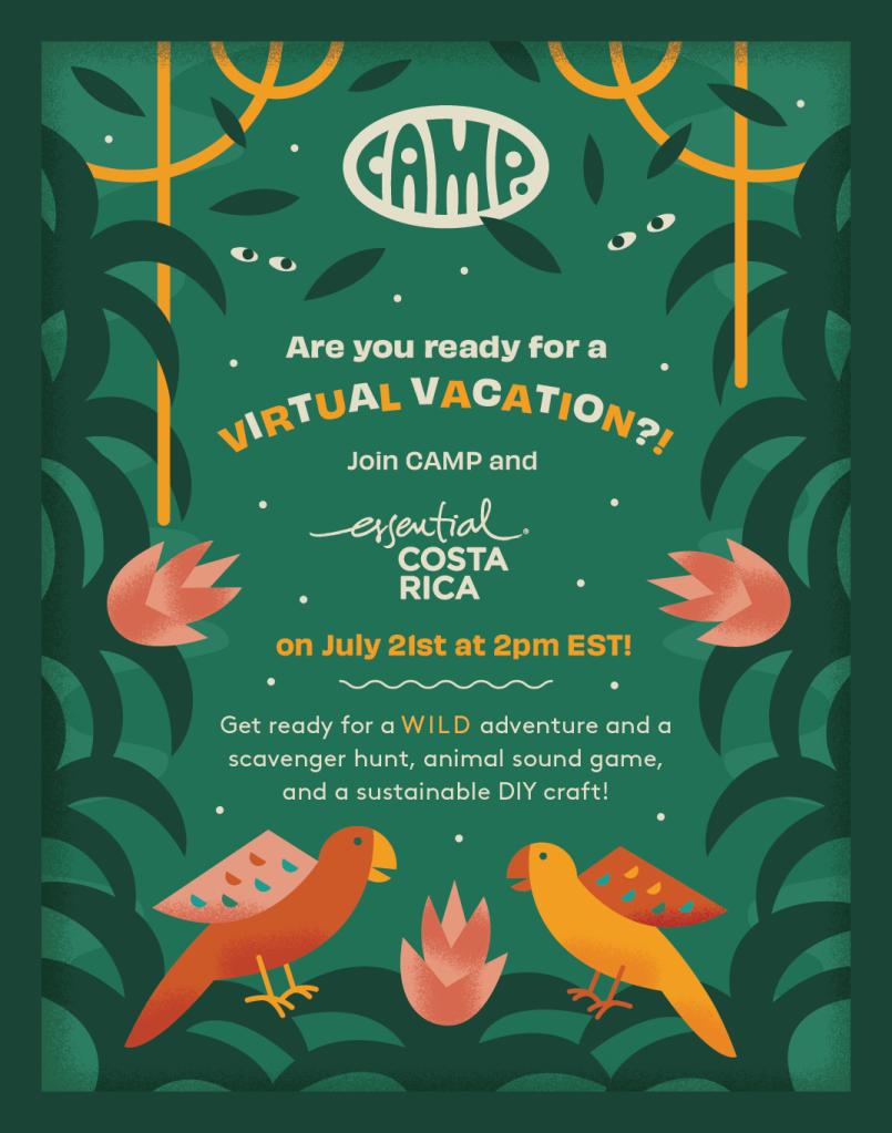 Virtual Costa Rica trip
