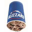 Oreo Fudge Brownie Blizzard Treat