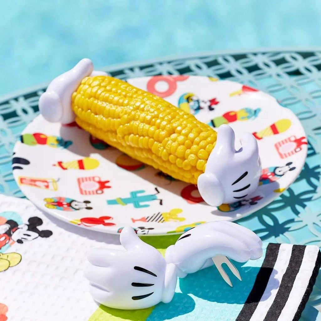 Mickey corn holders