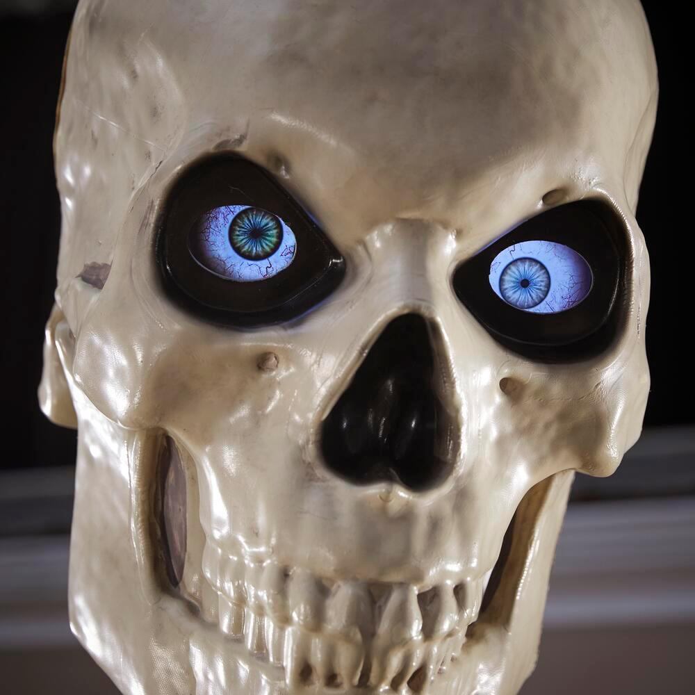 12-Foot Giant-Sized Skeleton with LifeEyes