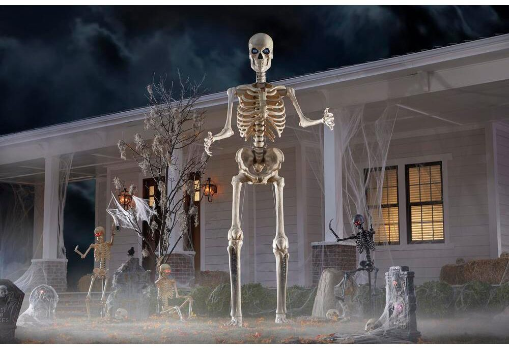 Home Depot Is Selling A 12 Foot Skeleton The Eyes Move