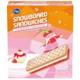 Strawberry Cheesecake Snowboard Sandwiches