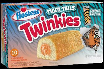 Tiger Tails Twinkies