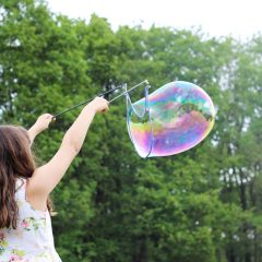 girl bubble