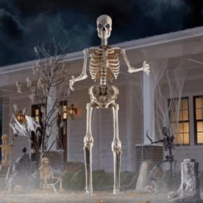 12-Foot Giant-Sized Skeleton with LifeEyes