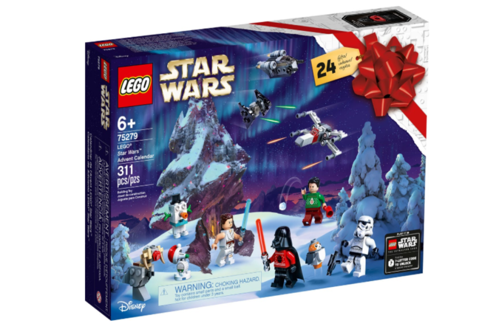 Darth Vader Is Wearing an Ugly Christmas Sweater in This New LEGO Advent Calendar