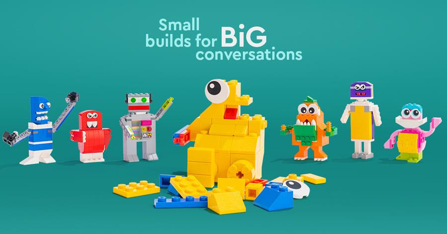 Small Builds for Big Conversations